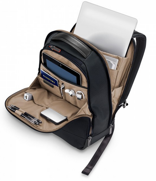Briggs & Riley @Work Medium Slim Backpack Interior