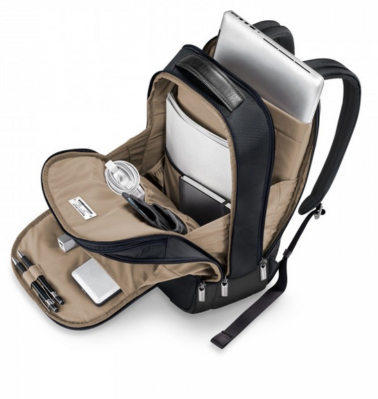 Briggs & Riley @Work Medium Backpack Interior