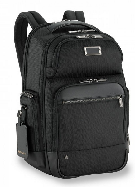Briggs & Riley @Work Medium Cargo Backpack Black