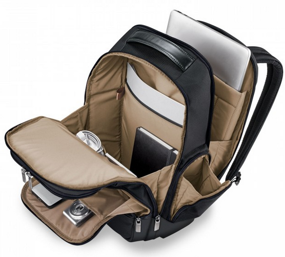 Briggs & Riley @Work Medium Cargo Backpack Interior