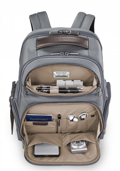 Briggs & Riley @Work Medium Cargo Backpack Interior Organization