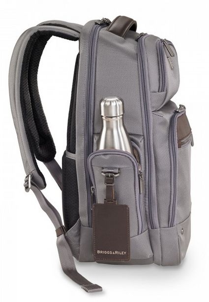 Briggs & Riley @Work Medium Cargo Backpack Waterbottle