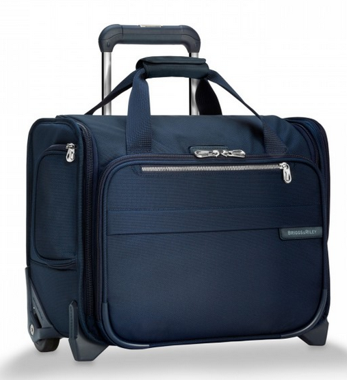 Briggs & Riley Baseline Rolling Cabin Bag Carry On Navy