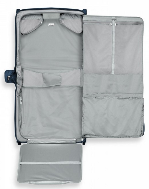 Briggs & Riley Baseline Deluxe Wheeled Garment Bag Interior