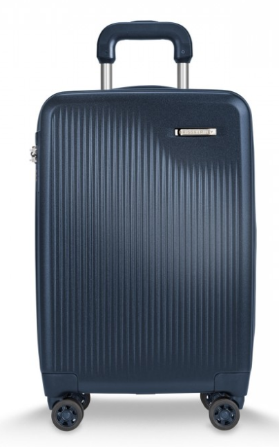Briggs and Riley Sympatico Carry-On CX Spinner Matte Navy