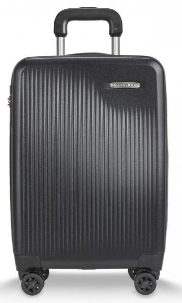 Briggs and Riley Sympatico Carry-On CX Spinner Black