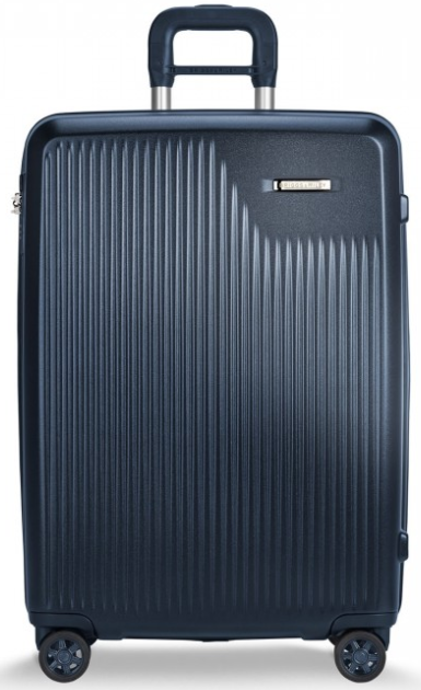 Briggs & Riley Sympatico Medium CX Spinner Hardside Luggage Matte Navy