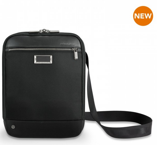 Briggs & Riley @Work Small Expandable Cross Body Black