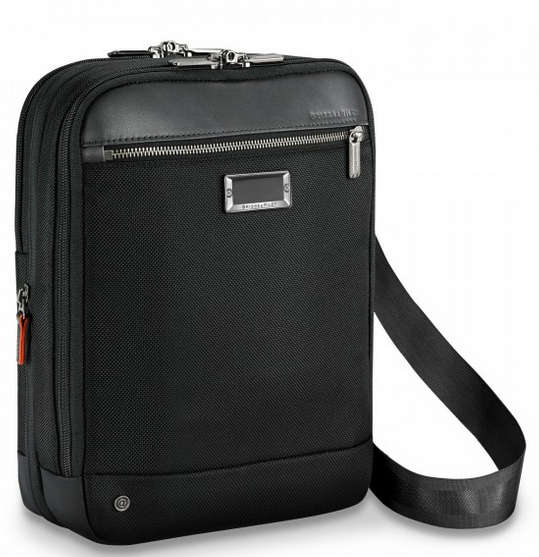 Briggs & Riley @Work Small Expandable Cross Body Front Side
