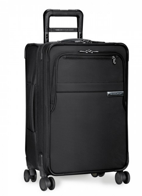 "Briggs and Riley Baseline Domestic 22"" Carry-On Spinner Black"