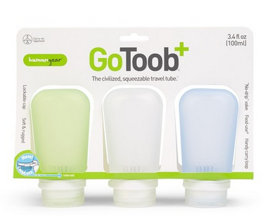 GoToob+ 3 Pack 3.4 oz Travel Tube