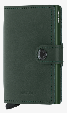 Secrid RFID Blocking Mini Wallet Green