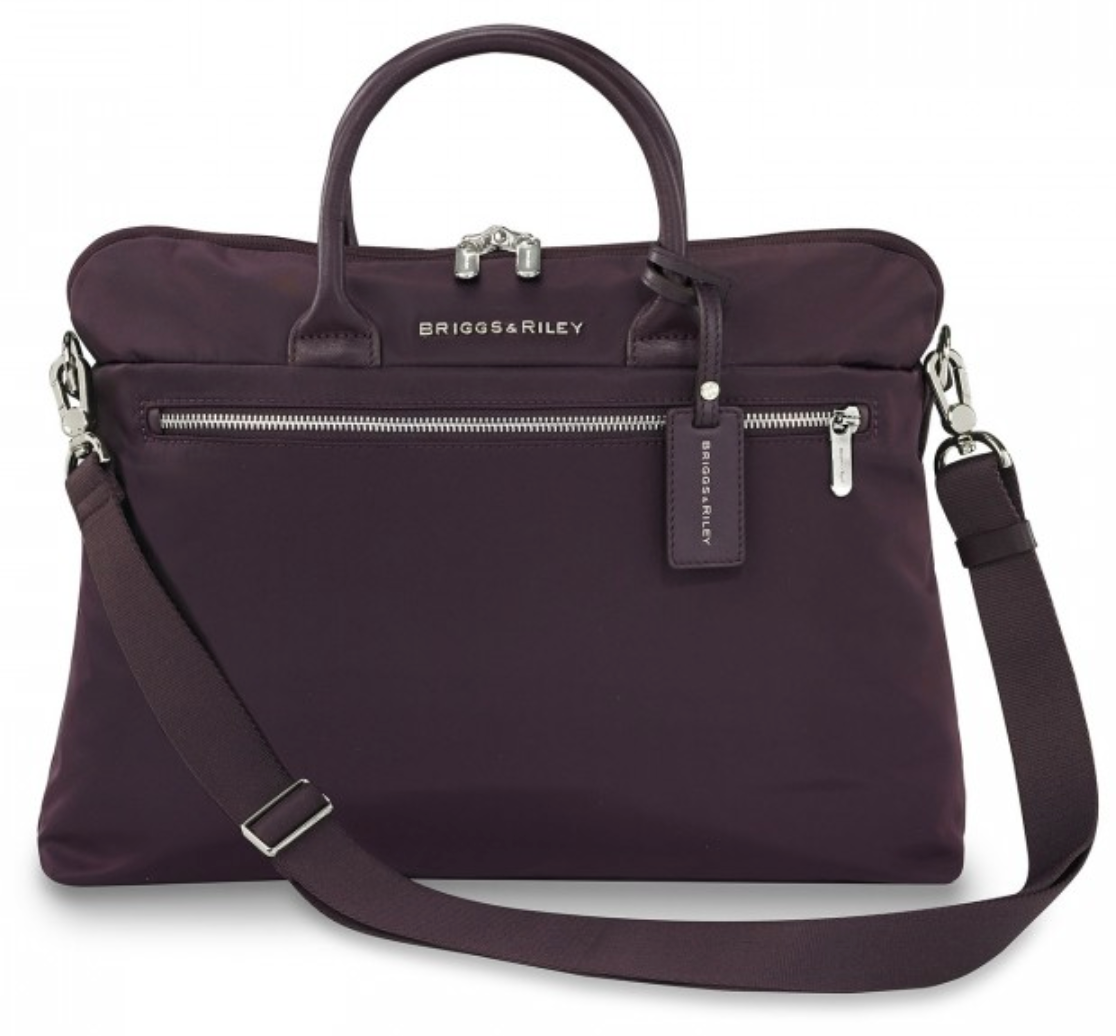 Briggs & Riley Women's Slim Briefcase