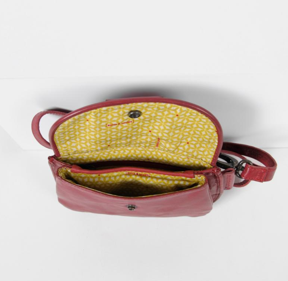 Aunts and Uncles Cranberry Belt Bag
