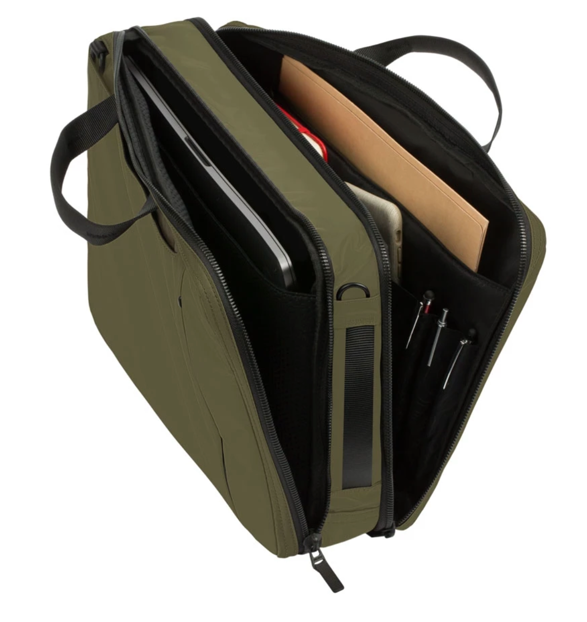 Incase Kanso Convertible Brief in Olive