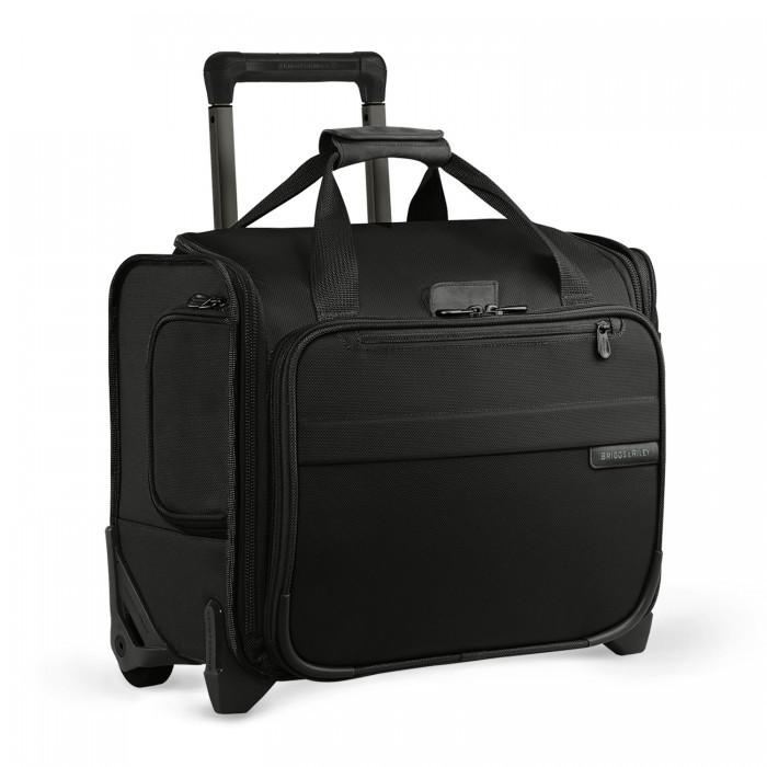 Briggs & Riley Baseline Rolling Cabin Bag Black Carry-On