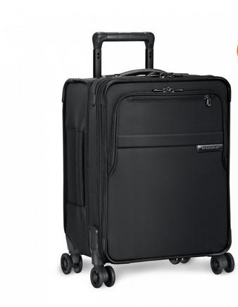 "Briggs & Riley Baseline Commuter Expandable 19"" Spinner Carry-On Black"