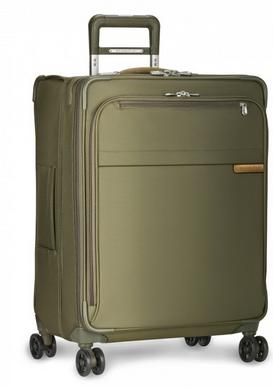 "Briggs and Riley Baseline Medium 25"" Expandable Spinner Olive"