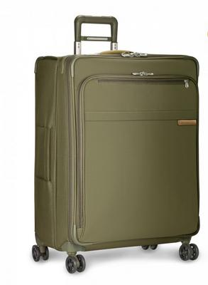 "Briggs and Riley Baseline Large 28"" Expandable Spinner Olive"