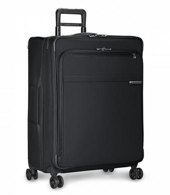 "Briggs and Riley Baseline Large 28"" Expandable Spinner Black"