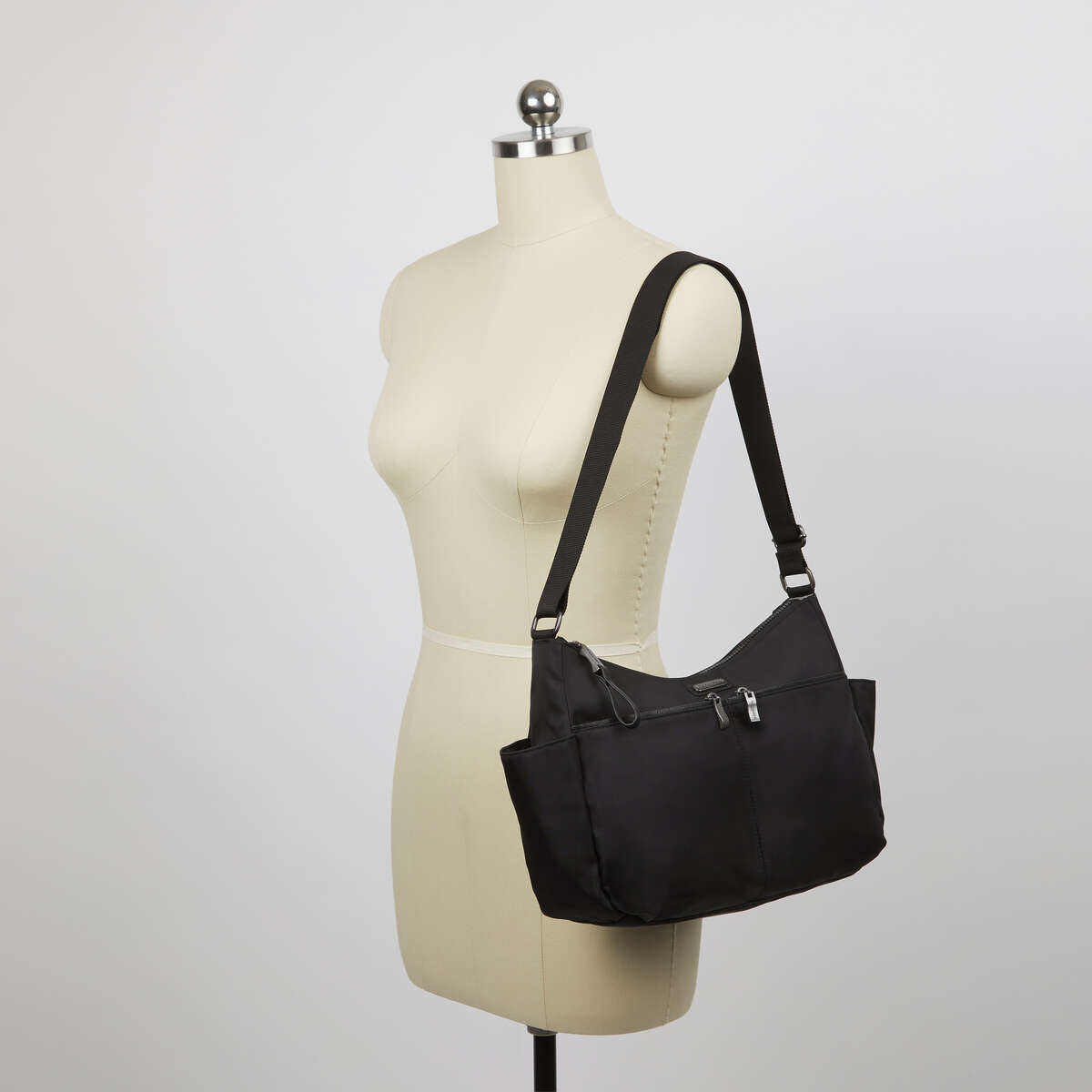 Baggallini West Village Hobo - Black