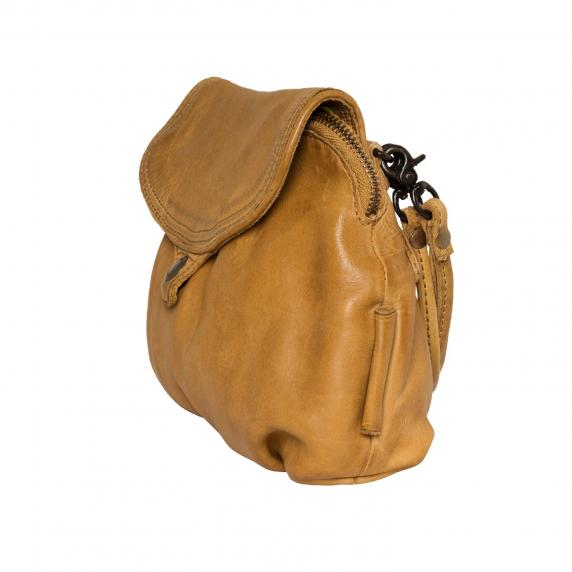 Aunts and Uncles Pear Drop Handbag - Croissant