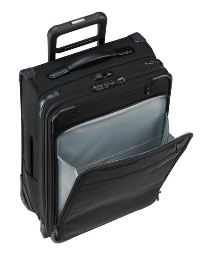 "Briggs & Riley Baseline 22"" Domestic Carry-On Expandable Upright Luggage Front Pocket"