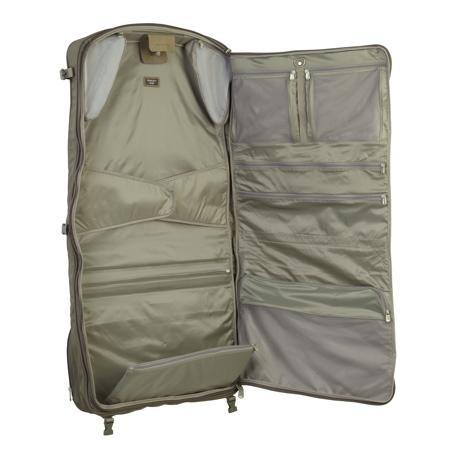 Briggs & Riley Baseline Compact Carry On Garment Bag Open Suiter