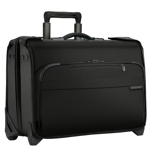 Briggs & Riley Baseline Carry-On Wheeled Garment Bag Black