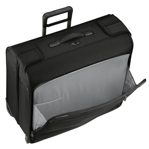 Briggs & Riley Baseline Carry-On Wheeled Garment Bag Front Pocket