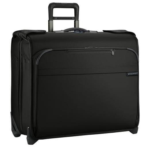 Briggs and Riley Baseline Deluxe Wheeled Garment Bag Black Busines Travel