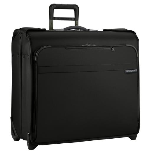 Briggs and Riley Baseline Wheeled Wardrobe Garment Bag Black
