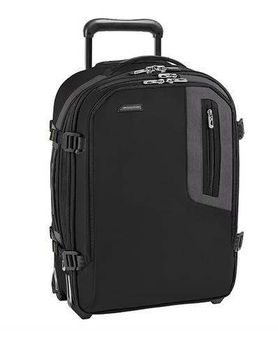 Briggs & Riley BRX Explore Commuter Expandable Upright Carry-On Black