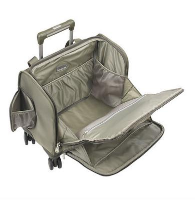 Briggs & Riley Baseline Cabin Spinner Carry On Open
