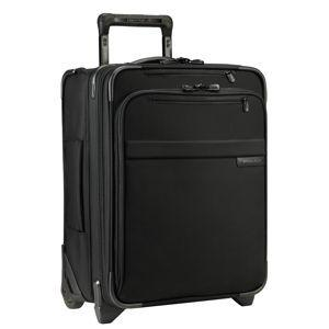 "Briggs & Riley Baseline Commuter 18"" Expandable Carry On Black"
