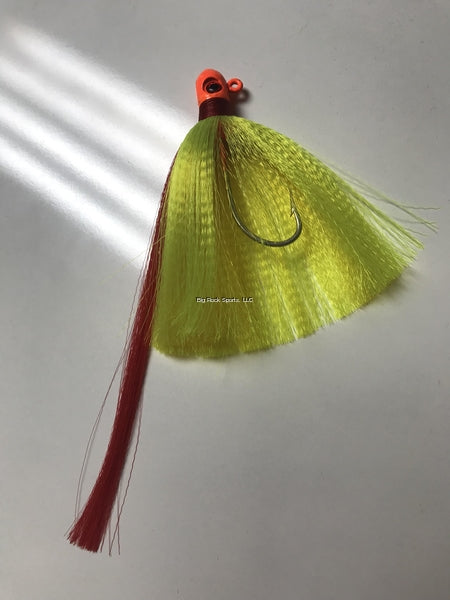 R&R FHORCHRD1.5-Orange Head, Chartreuse nylon