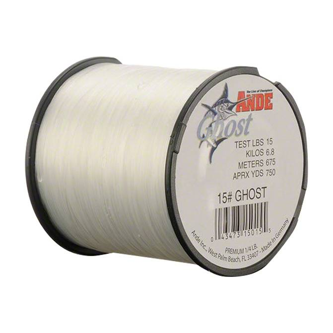 Ande Ghost Monofilament; This is part of the Monofilament collection offered from Fishin' My Best Life - fishinmybestlife.com