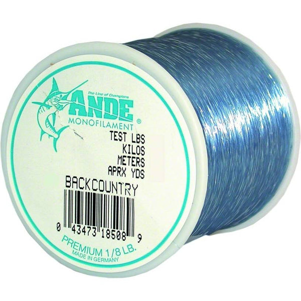 Ande Premium Back Country Monofilament