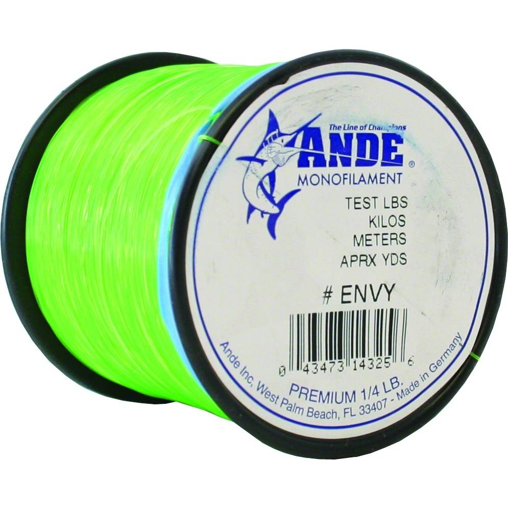 Ande Premium Monofilament 1-4 Lb. Spool; This is part of the Monofilament collection offered from Fishin' My Best Life - fishinmybestlife.com
