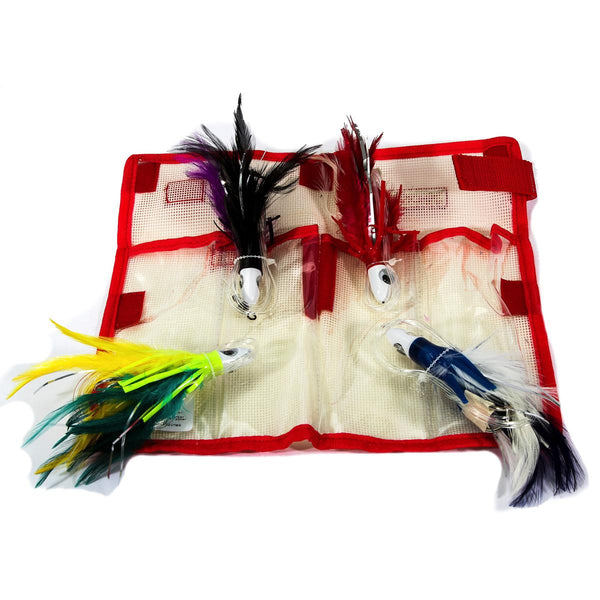 Boone Feather Trolling Jit Kit 4 Pack