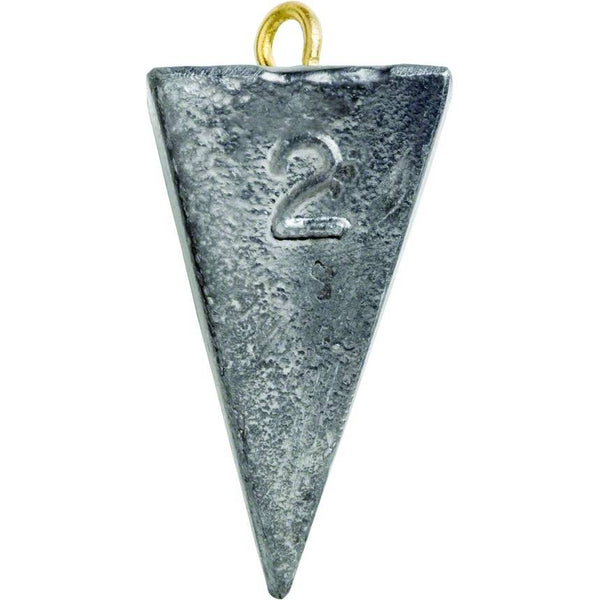 Bullet Weights Pyramid Sinkers; This is part of the Sinkers collection offered from Fishin' My Best Life - fishinmybestlife.com
