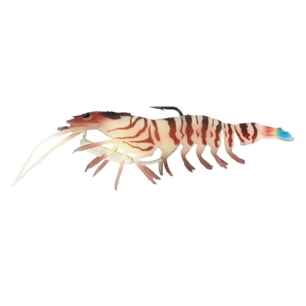 Chasebaits Flick Prawn; This is part of the Soft Plastics collection offered from Fishin' My Best Life - fishinmybestlife.com