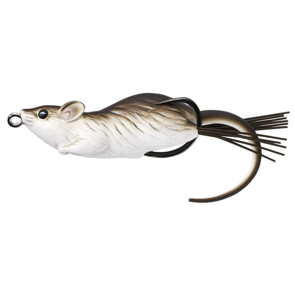 LiveTarget Mouse Hollow Body Topwater Lure; This is part of the Topwater collection offered from Fishin' My Best Life - fishinmybestlife.com