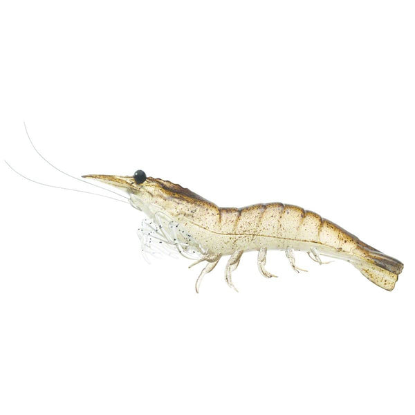 LiveTarget Rigged Shrimp With Rattle; This is part of the Soft Plastics collection offered from Fishin' My Best Life - fishinmybestlife.com