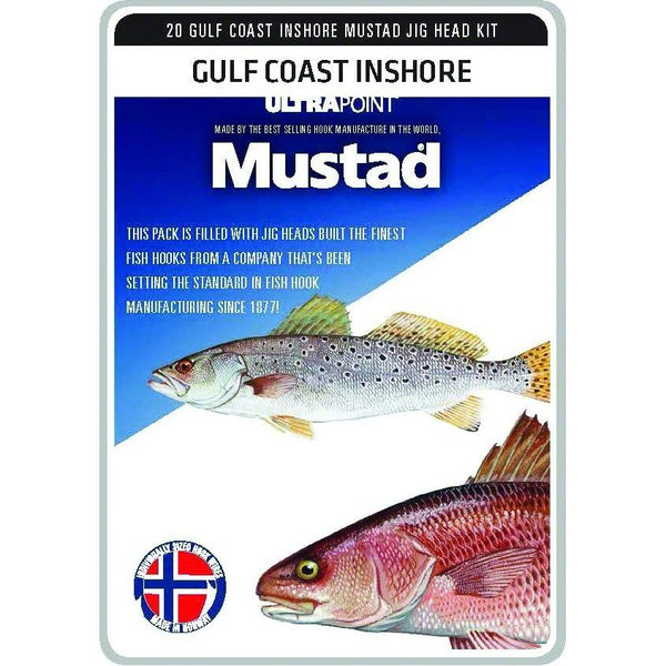 Mustad Jig Head Kits; This is part of the Jigs collection offered from Fishin' My Best Life - fishinmybestlife.com