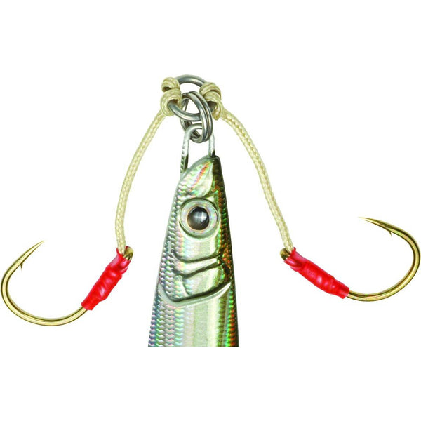 Owner Dancing Stinger Assist Hook; This is part of the Rigs collection offered from Fishin' My Best Life - fishinmybestlife.com