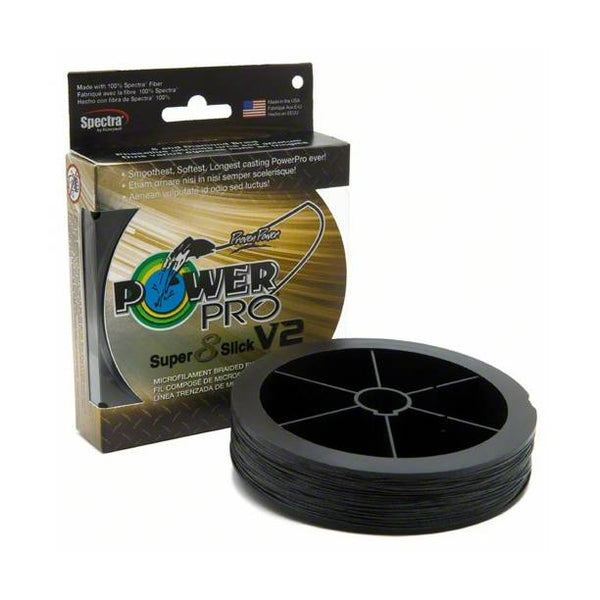 Power Pro Super 8 Slick V2 150 Yards; This is part of the Braided collection offered from Fishin' My Best Life - fishinmybestlife.com