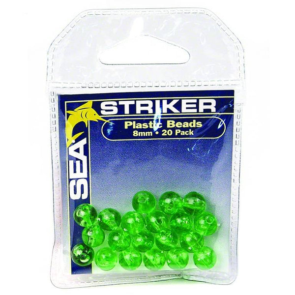 Sea Striker Round Beads; This is part of the Lure and Bait Rigging collection offered from Fishin' My Best Life - fishinmybestlife.com