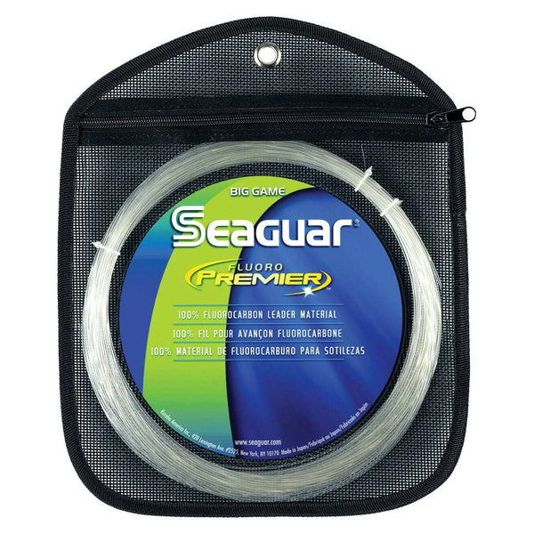 Seaguar Premier Big Game Fluorocarbon Leader Material; This is part of the Leader Material collection offered from Fishin' My Best Life - fishinmybestlife.com