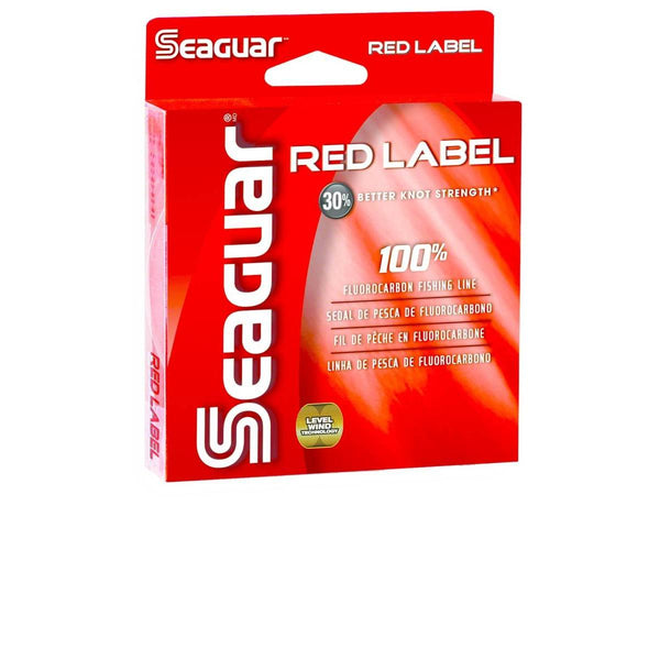 Seaguar Red Label 100% Fluorocarbon Line; This is part of the Fluorocarbon collection offered from Fishin' My Best Life - fishinmybestlife.com
